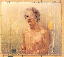 Bernard Buffet: Zelfportret in de badkamer, goes