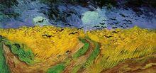 Vincent van Gogh: Champ de blé aux Corbeaux