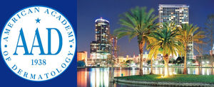 Annual Meeting American Academy of Dermatology Orlando 3 - 7 maart.