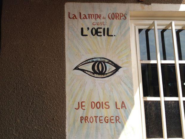 Ook in Congo wil het oog wat
