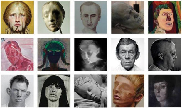 Tentoonstelling Faces in Psychiatrisch Centrum Sint-Amandus in Beernem