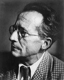 Erwin Schrodinger (zie *).