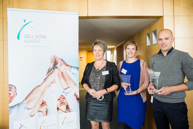 Well Done Awards bekronen voor vierde keer health literacy-initiatieven